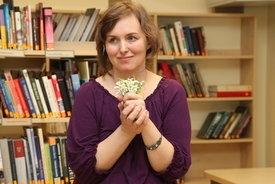 Встреча с писательницей Андрой Манфелде в Латгальской Центральной библиотеке