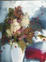 Выставка картин Вии Ступане на абонементе и в читальном зале ЛЦБ