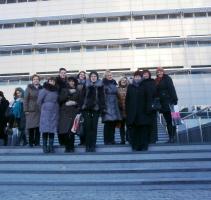 Библиотекари Даугавпилса в акции «Путь света - Цепочка друзей книг»
