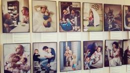 """Bibliotēkā skatāma fotoizstāde """"Tētis Zviedrijā. Tētis Latvijā"""""""