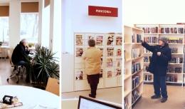 Jaunbūves bibliotēka ver durvis pēc renovācijas