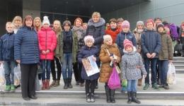 """Daugavpils pašvaldības bibliotēku lasošās ģimenes piedalījās Latvijas Nacionālās bibliotēkas pasākumā """"Lielie lasīšanas svētki"""""""