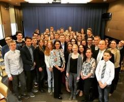 Даугавпилсские школьники приняли участие в игре-симуляции ООН