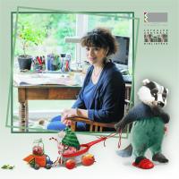 Māksliniece un bērnu grāmatu autore Agija Staka tikās ar Daugavpils mazajiem lasītājiem
