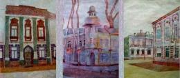 Daugavpils arhitektoniskā daudzveidība Saules skolas audzēkņu zīmējumos