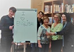 Bibliotēka piedāvā apgūt angļu valodu