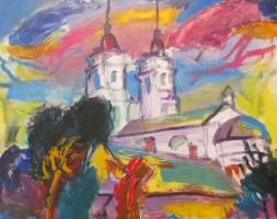 Персональная выставка картин Освальда Звейсалниекса в Латгальской Центральной библиотеке