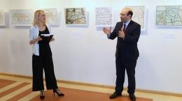 Bibliotēkā skatāma Armēnijas vēsturisko karšu izstāde