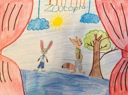 Выставка детских рисунков «Книга» в Латгальской Центральной библиотеке