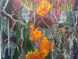 """Ērika Volonta gleznu izstāde """"Pagātnes un nākotnes metamorfoze"""""""