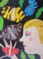 Выставка творческих работ учащихся «Путешествие» в секторе периодики