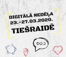 Digitālā nedēļa 2020 tiešraidē