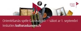 Nacionālā bibliotēka uzsāks Latvijas Kultūras kanona mēnesi