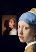 Выставка «Старые картины в новых фотографиях» в библиотеке