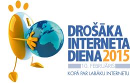 Aicinām atzīmēt Drošāka interneta dienu 2015