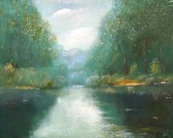Выставка картин Сергея и Станислава Минаковских в библиотеке