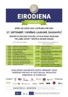 Daugavpilī 27. septembrī norisināsies Latgales Eirodiena