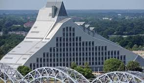 Latvijas Nacionālās bibliotēkas jaunās ēkas atklāšana