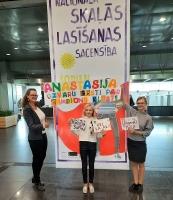 Daugavpils tika pārstāvēta Nacionālās Skaļās lasīšanas sacensības Valsts finālā