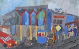 Выставка пленэрных работ Детской художественной школы