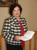 Tikšanās ar dzejnieci Fainu Osinu Latgales Centrālajā bibliotēkā