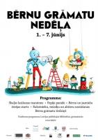 Latvijā notiks Bērnu grāmatu nedēļa