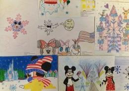 """Radošo darbu konkursa """"American Winter Holidays"""" noslēgums"""