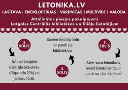 """Datubāze """"Letonika"""" bibliotēkas lietotājiem pieejama arī attālināti"""