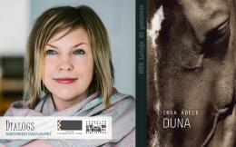 """Inga Ābele iepazīstinās ar romānu """"Duna"""""""