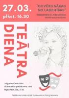 Bibliotēka aicina atzīmēt Teātra dienu