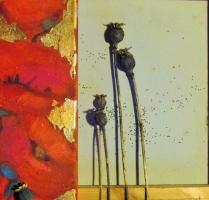 Выставка картин Весмы Ушпеле в Латгальской Центральной библиотеке