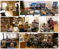 Bibliotēku nedēļas aktivitātes Jaunbūves bibliotēkā