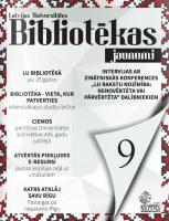 Nāk klajā LU Bibliotēkas jaunumu gadumijas izdevums