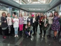 Daugavpils jaunieši Lielajos lasīšanas svētkos Latvijas Nacionālajā bibliotēkā