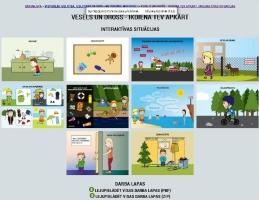 Tiešsaistes metodiskais materiāls pirmsskolas un sākumskolas bērniem