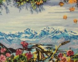 """Alfrēdas Bulionko gleznu izstāde """"Iedvesmas dzirksteles"""" LCB periodikas sektorā"""