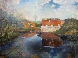 """Nikolaja Balakleiska gleznu izstāde """"Mana pilsēta – Daugavpils"""""""
