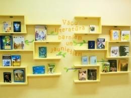 Bērnus un jauniešus iepazīstinās ar vācu literatūru
