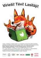 Ja vecāki lasa, arī bērni lasīs!