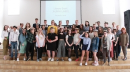 Daugavpils jaunieši iepazīst amerikāņu daiļliteratūru