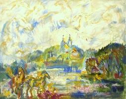 """Maijas Bērziņas glezniecības izstāde """"Sudrabainā gaisma"""""""