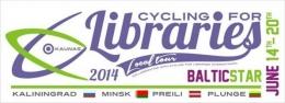 """Velobrauciena """"Baltic Star"""" dalībnieki apmeklēs Latgales Centrālo bibliotēku"""