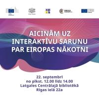 Latgales Centrālajā bibliotēkā notiks saruna par Eiropas nākotni un digitālajiem izaicinājumiem