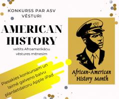 Vecāko klašu skolēni aicināti piedalīties konkursā par ASV vēsturi