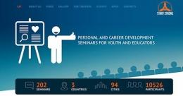 """Karjeras attīstības seminārs jauniešiem """"Start Strong"""""""