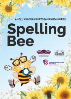 """Izsludināta pieteikšanās angļu valodas konkursam """"Spelling Bee"""""""