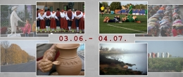 """Fotoizstāde """"Latgales un Daugavpils laiks"""""""