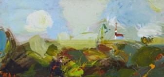 Выставка картин художника Оскара Янсона в Латгальской Центральной библиотеке