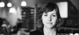 Latviešu rakstniece Inga Žolude Daugavpilī