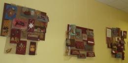 """Bērnu bibliotēkā radošo darbu izstāde """"Apsveikums Latvijai"""""""